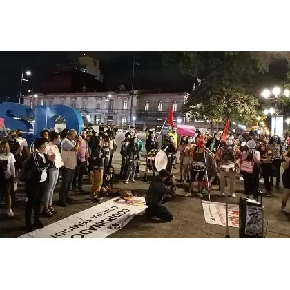 En Costa Rica: Vigilia Feminista, ¡Por las que ya no están!