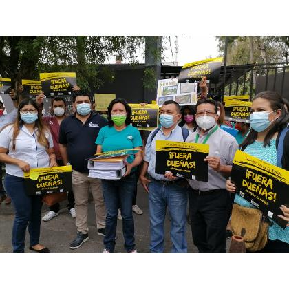 En El Salvador: Organizaciones comunitarias de mujeres demandan un alto a megaproyectos urbanísticos y comerciales depredadores del ambiente.