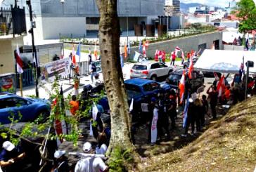 En Costa Rica: Continúan manifestaciones contra Ley de Empleo Público.