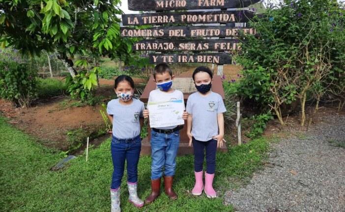 Escuela logra carbono neutralidad de la mano de Popular pensiones