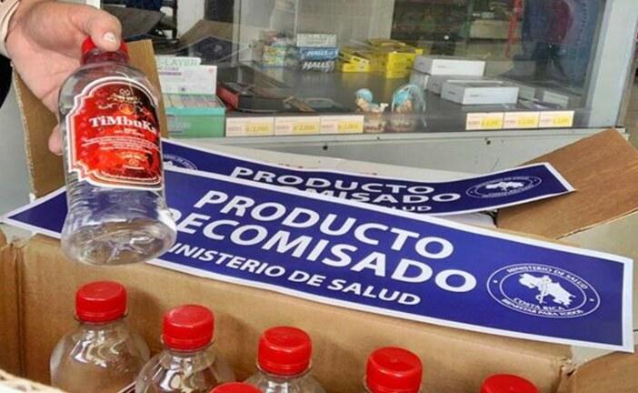 Continúan inspecciones en seguimiento a las investigaciones de posibles bebidas y alcoholes  adulterados con metanol
