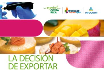 Infocoop y Procomer buscan cooperativas con potencial exportador