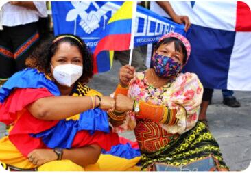 Panamá: Organizaciones del movimiento social y popular de Panamá se moviliza en solidaridad con el pueblo colombiano y contra la terrible represión del gobierno de Iván Duque.
