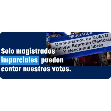 En Nicaragua: Diputados sandinistas aprueban reformas y eligen magistrados electorales a su favor