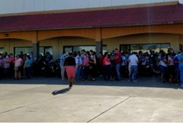 En Nicaragua: Más de mil obreros y obreras despedidas de una empresa textilera.
