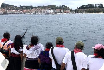 En México: Ejercito Zapatista (EZLN) llega a Europa.