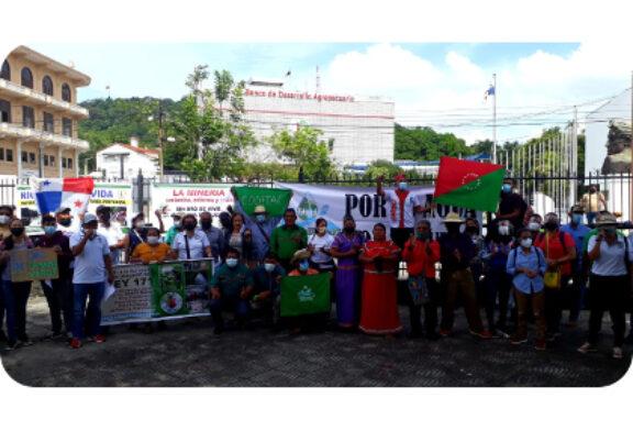 En Panamá: Organizaciones socioambientales de Panamá presentan proyecto de Ley de Moratoria Minera.