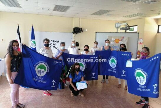 8 CEN-CINAI de la Zona Norte reciben Bandera Azul Ecológica