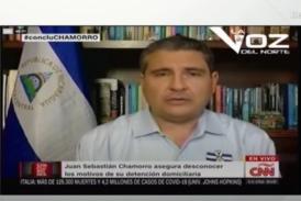 Habla Juan Sebastián Chamorro en CNN tras arresto de Cristiana Chamorro