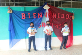 Niños de San Ignacio ya cuentan con escuela digna