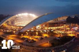 Estadio Nacional preparado si se necesitara como Centro de Vacunación masiva