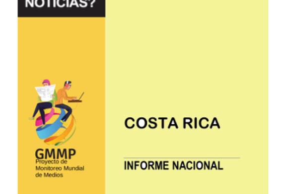 En Costa Rica: Informe Global arroja datos sobre desigualdades de género en los medios de comunicación.