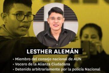 En Nicaragua: Continúa ola de detenciones, ahora son líderes campesinos y estudiantiles