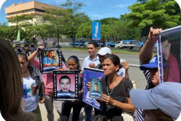 En Nicaragua: Familiares de presos políticos señalan que persisten violaciones a los derechos humanos.