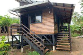 Concluidas las primeras casas en Las Barras del Caribe