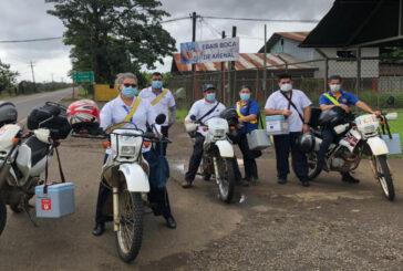 CCSS sigue llegando a los rincones de Costa Rica con la vacuna contra covid